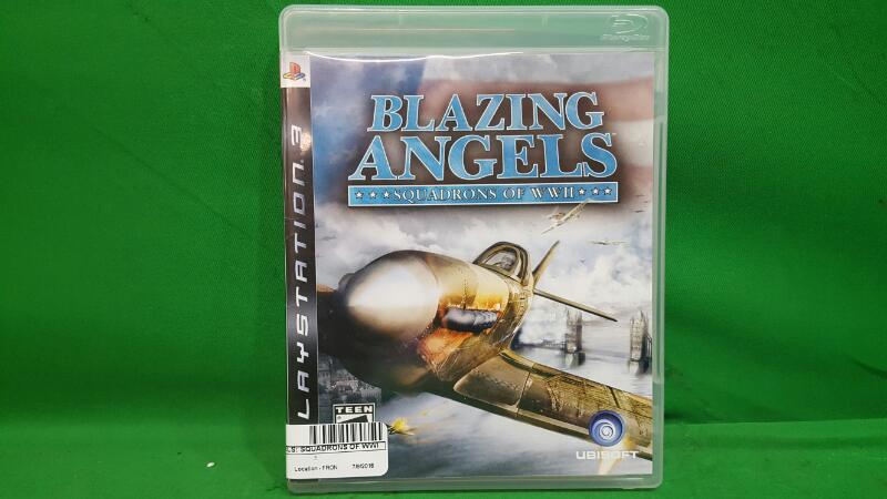 Blazing Angels: Squadrons of WWII (Sony PlayStation 3, 2006)
