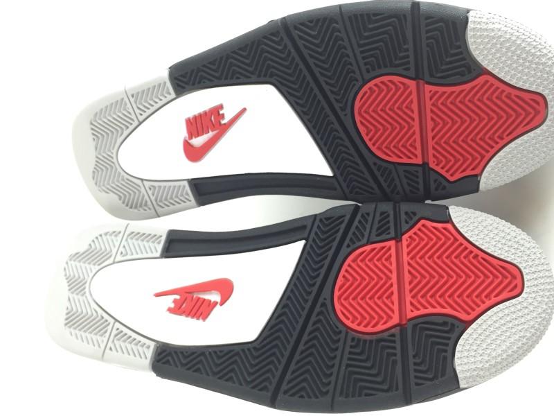 "NIKE Shoes/Boots AIR JORDAN 4 RETRO OG ""WHITE CEMENT 2016 RELEASE"""