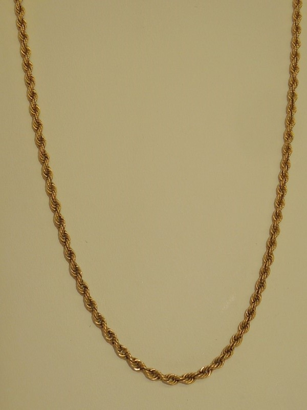 Gold Chain 14K Yellow Gold 8.1g
