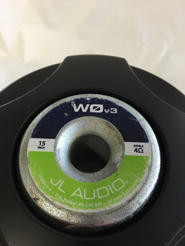 JL AUDIO Speakers/Subwoofer 10 WOV2