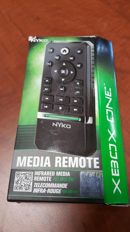 NYKO Video Game Accessory XBOX ONE MEDIA REMOTE