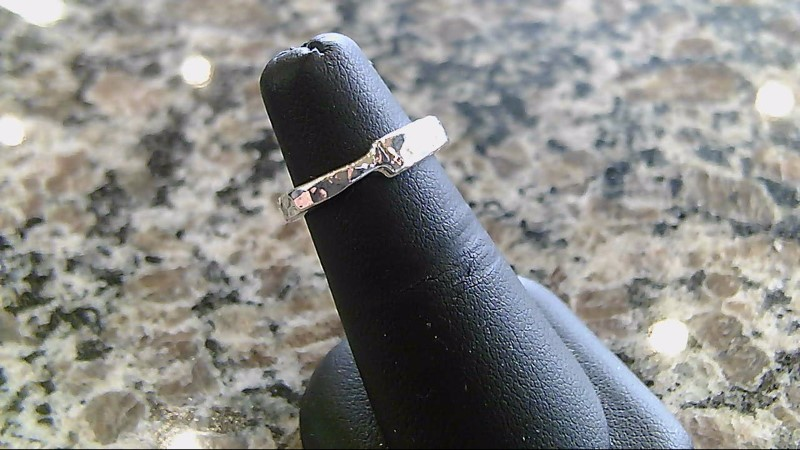 Lady's Silver Ring 925 Silver 3.7g Size:4.5