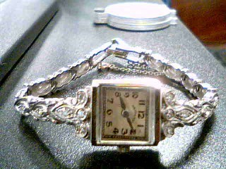 HAMILTON Lady's Wristwatch 14KT LADIES WATCH