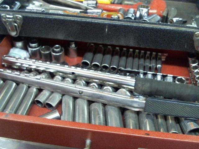 CRAFTSMAN Mixed Tool Box/Set MIS TOOL BAG