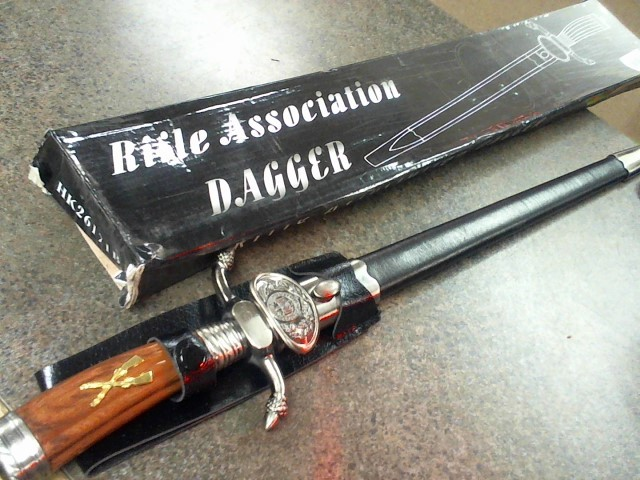 BUD K Display Knife RIFLE ASSOCIATION DAGGAR