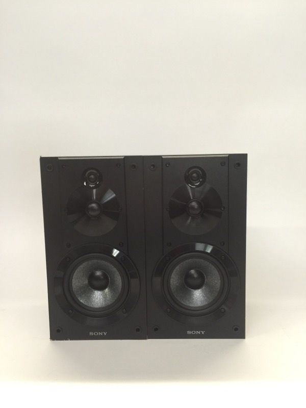Sony SS-CS5 3-Way Speakers