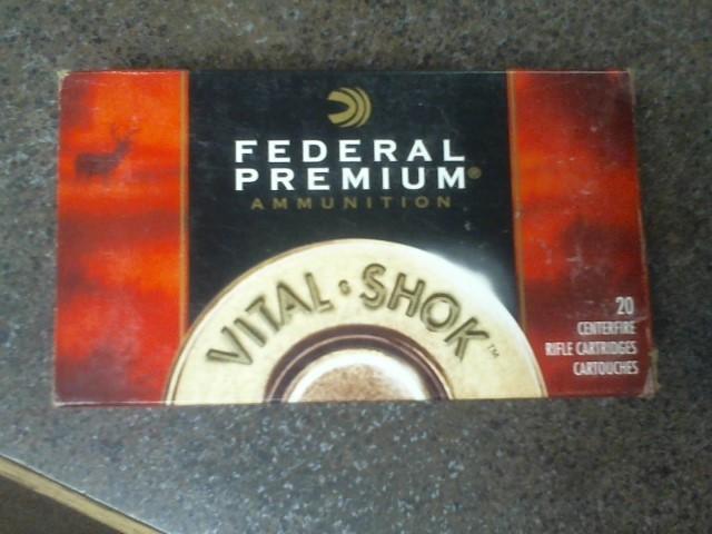 FEDERAL AMMUNITION Ammunition VITAL SHOK