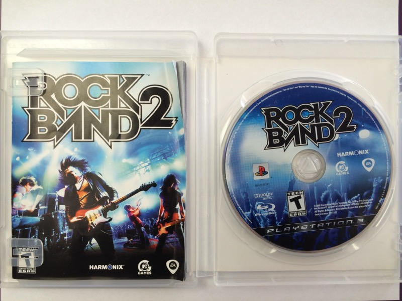 Rock Band 2 - (Sony Playstation 3, 2008) PS3