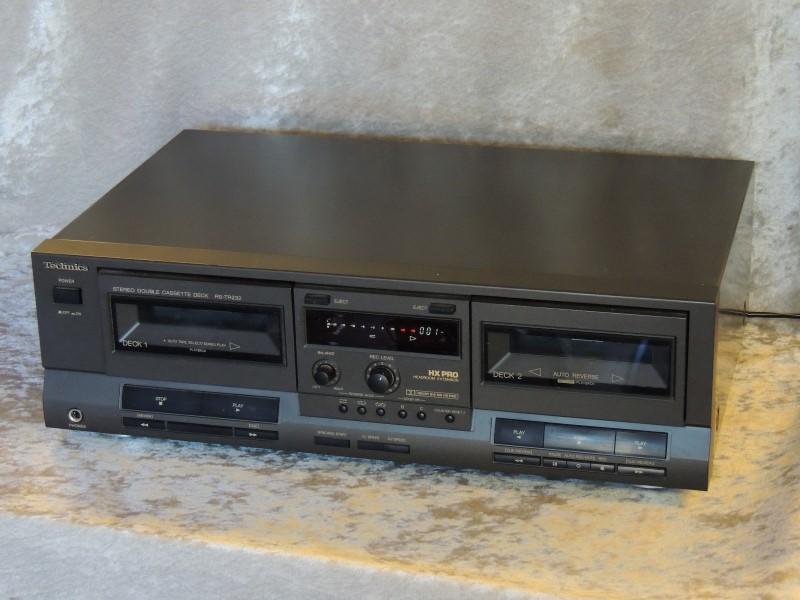 Technics RS-TR232 Vintage Dual Double Cassette Deck Auto Reverse