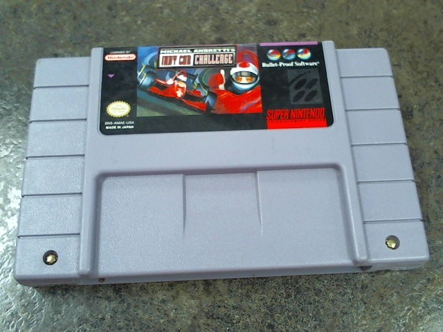 NINTENDO Nintendo SNES Game MICHAEL ANDRETTI'S INDY CAR CHALLENGE SNES