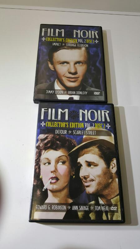 Film Noir Collector's Edition Volume 2 (4 Movies on 2 DVDs)