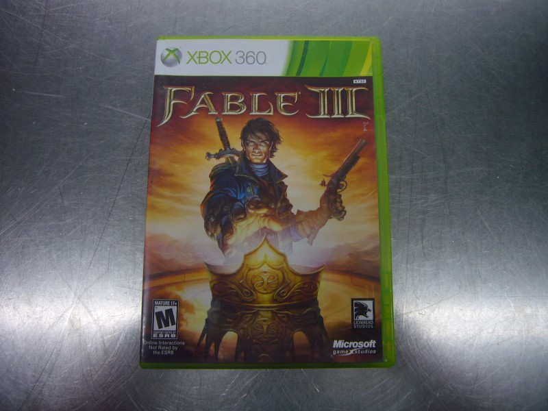 MICROSOFT XBOX 360 Game FABLE III