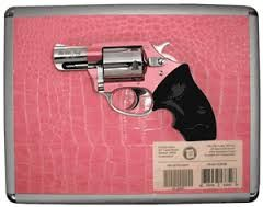 CHARTER ARMS THE CHIC LADY 38 SPL. PINK REVOLVER USED