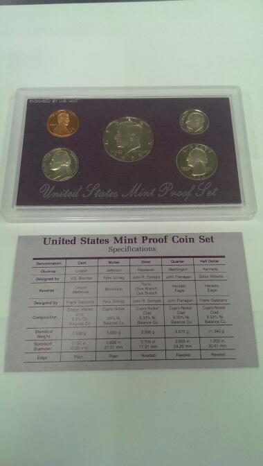 UNITED STATES 1988 MINT PROOF SET