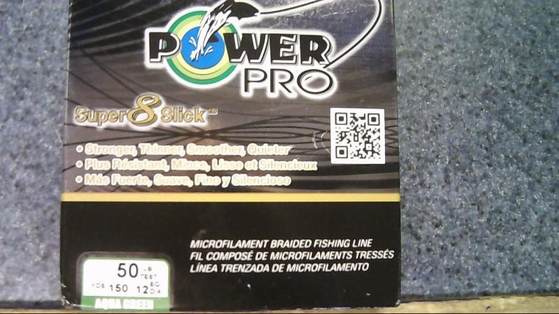 POWER PRO SUPER 8 SLICK 50lb 150yd