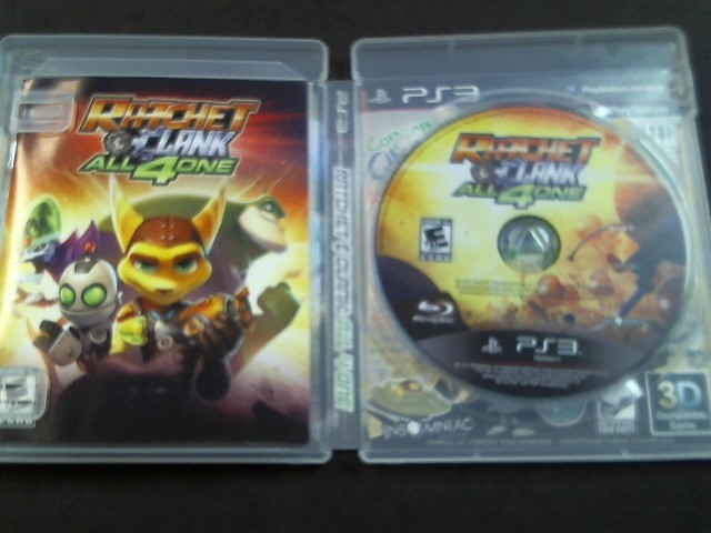 SONY Sony PlayStation 3 Game RATCHET & CLANK ALL 4 ONE