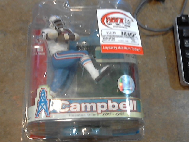 NFL FIGURINE EARL CAMPBELL MCFARLANE TOYS