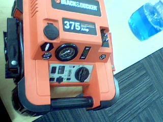 BLACK&DECKER Battery/Charger JUMP-STARTER