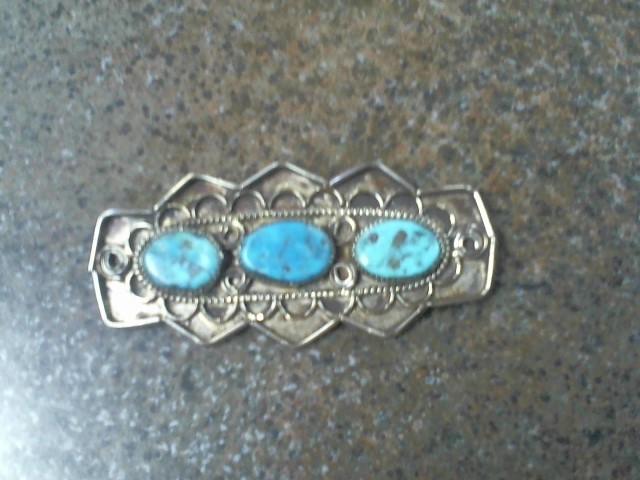 NATIVE TURQ .925 PIN