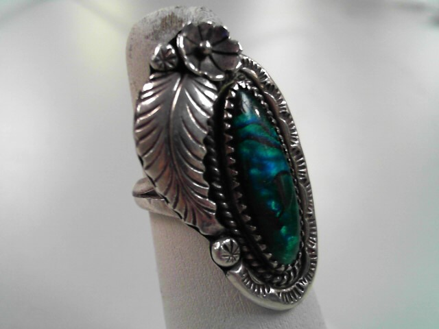Lady's Silver Ring 925 Silver 7.8g Size:7