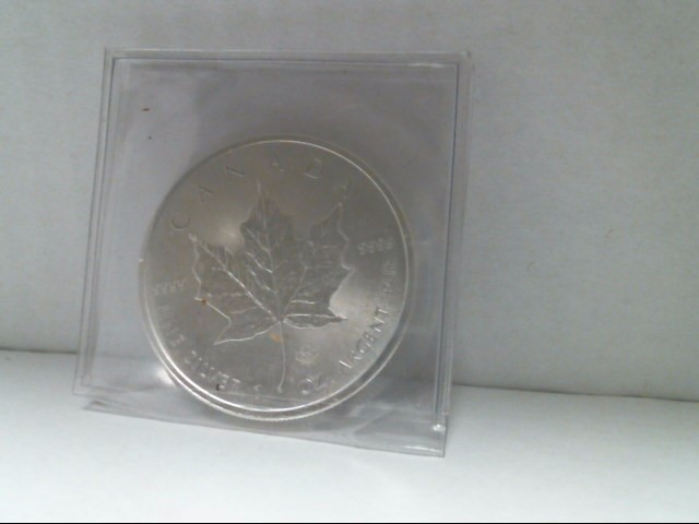 INTERNATIONAL CANADIAN MINT Silver Coin MAPLE LEAF 2014