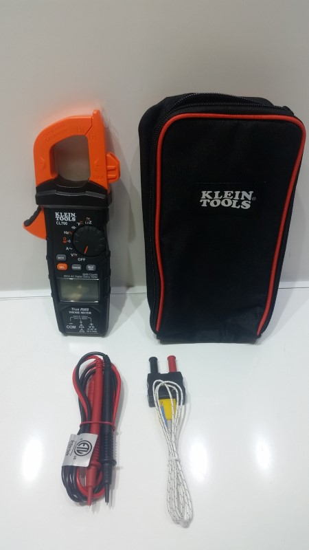 *NEW* Klein CL700 AC Auto Ranging Digital True RMS Clamp Meter