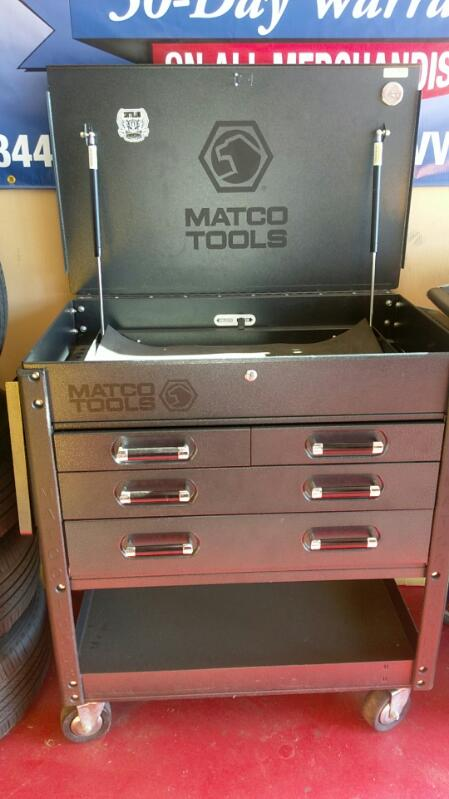 MATCO TOOLS ROLLAWAY TOOL BOX MODEL MB-7525