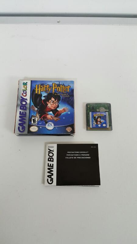 NINTENDO Vintage Game HARRY POTTER GAMEBOY COLOR