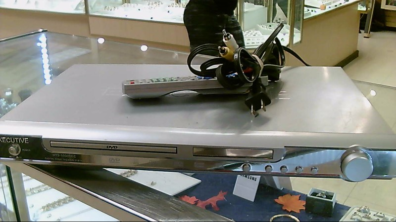 EXECUTIVE ELITE DVD PLAYER,REMOTE HTS-1000REC