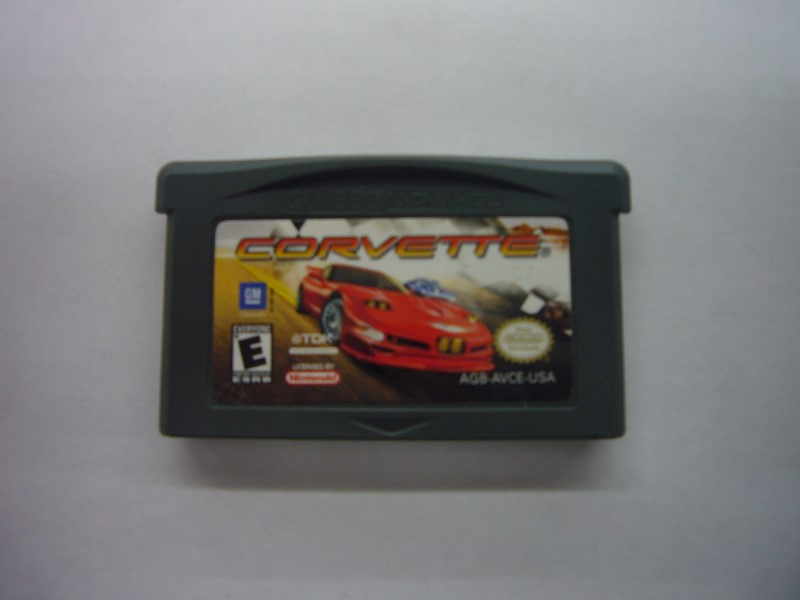 NINTENDO GBA Game CORVETTE