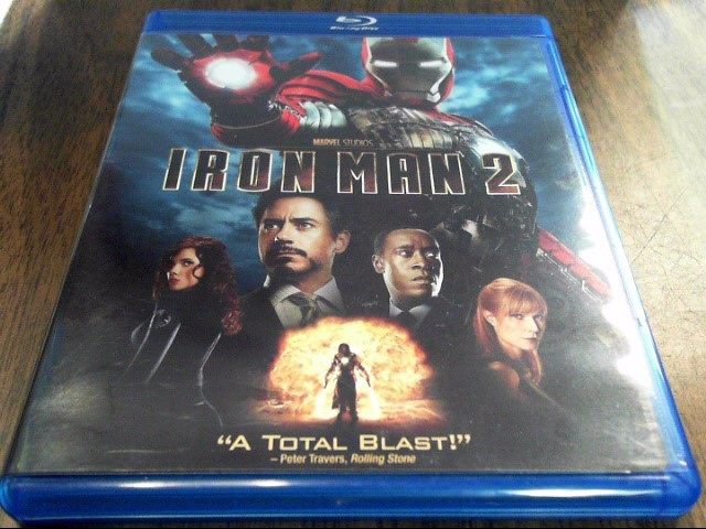 BLU-RAY MOVIE Blu-Ray IRON MAN 2