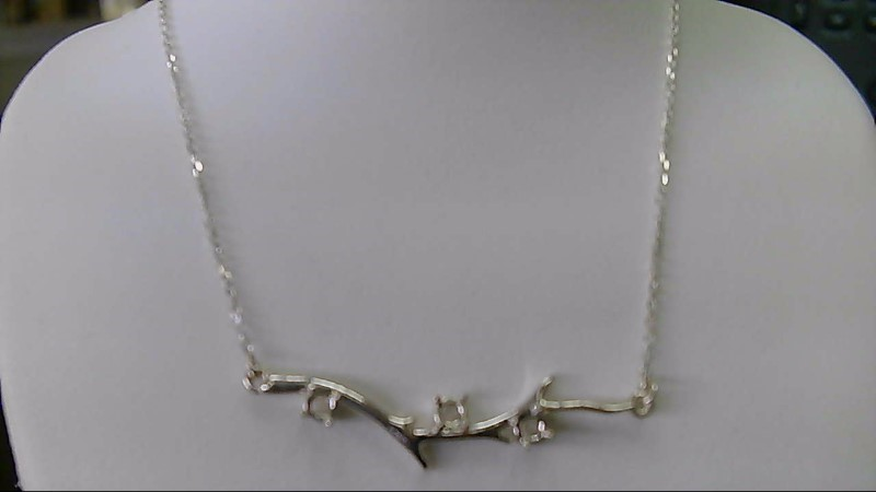 Fashion Branch Silver Chain 925