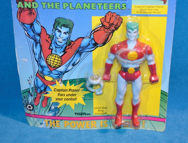 TIGER TOYS Vintage/Antique Toys CAPTAIN PLANET 80-621