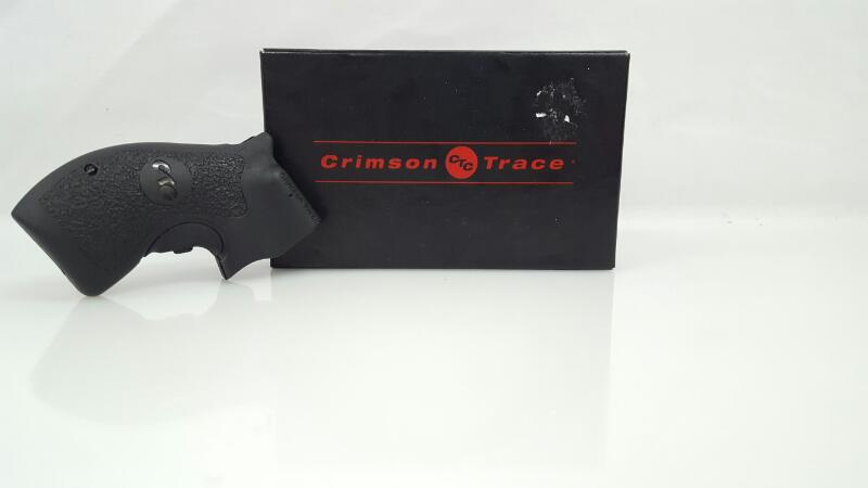 Crimson Trace LG-105 Black S&W J-Frame Round Butt Red Lasergrip