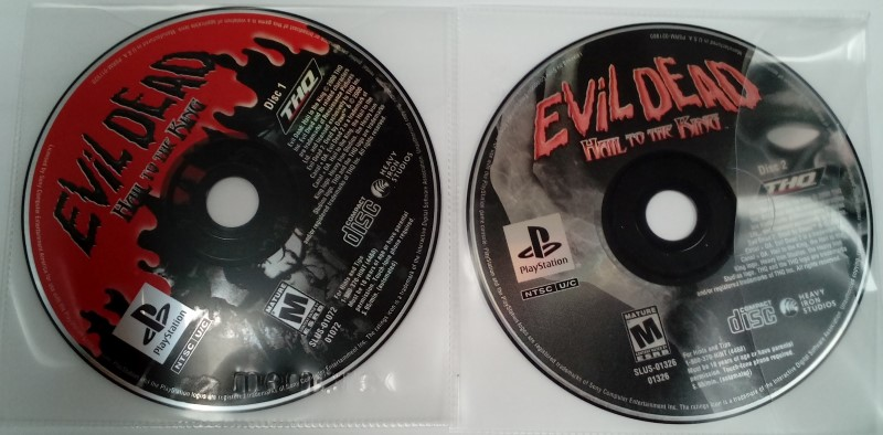 SONY PLAYSTATION ONE EVIL DEAD HAIL TO THE KING