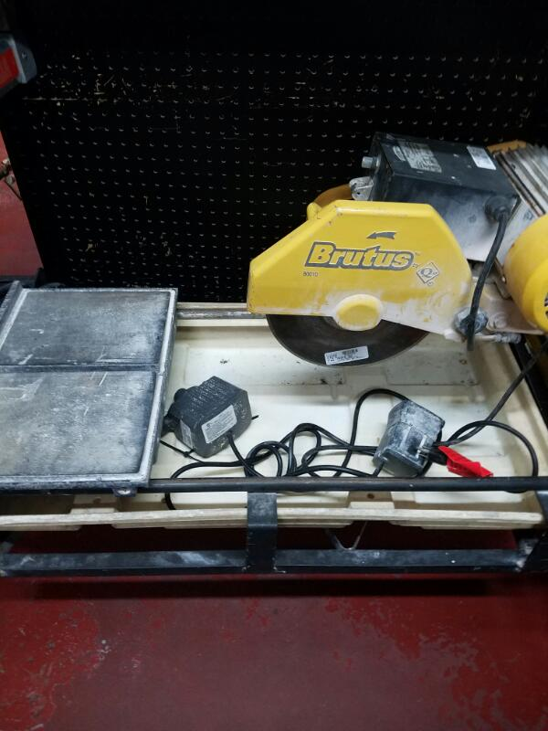 BRUTUS 60010    WET TILE CUTTER