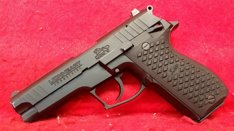 Lionheart Industries LH9 9mm Pistol - 3 Mags