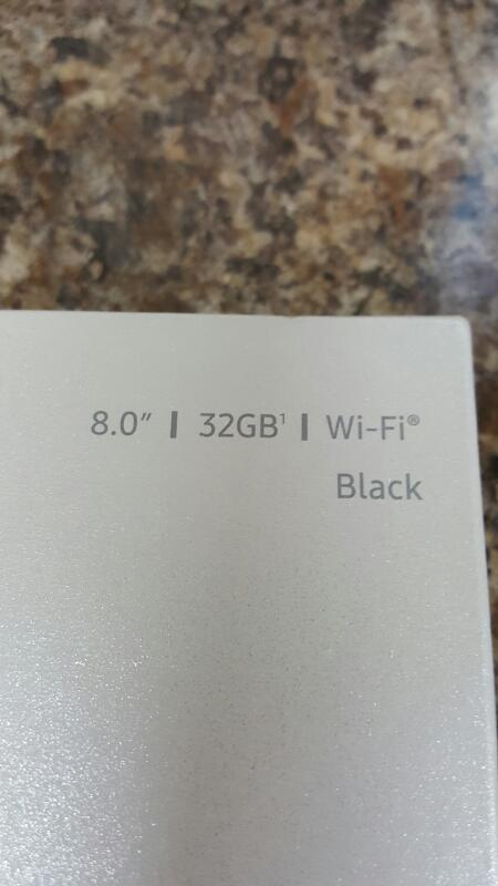 """Samsung Galaxy Tab S2, 32gb (8"""", SM-T713, Black, Wi-Fi)"""
