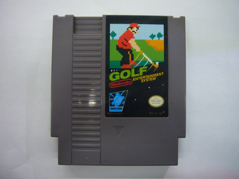 NINTENDO NES Game GOLF *CARTRIDGE ONLY*