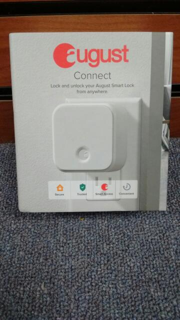 AUGUST CONNECT ADAPTER WHITE SMART LOCK AUG-AC02 *BRAND NEW*