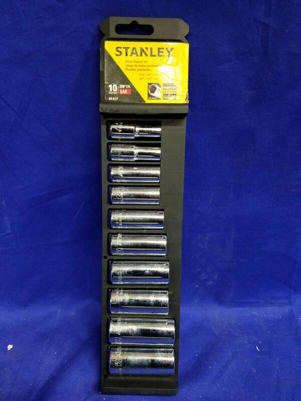 STANLEY 89-637 SAE 10-PC SET