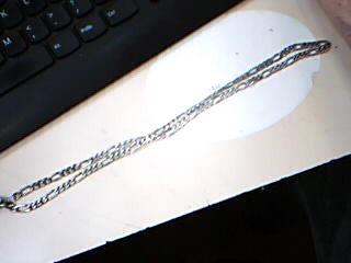 "24"" Silver Chain 925 Silver 28g"