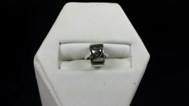Chamila Heart Stopper Bead 925 Silver