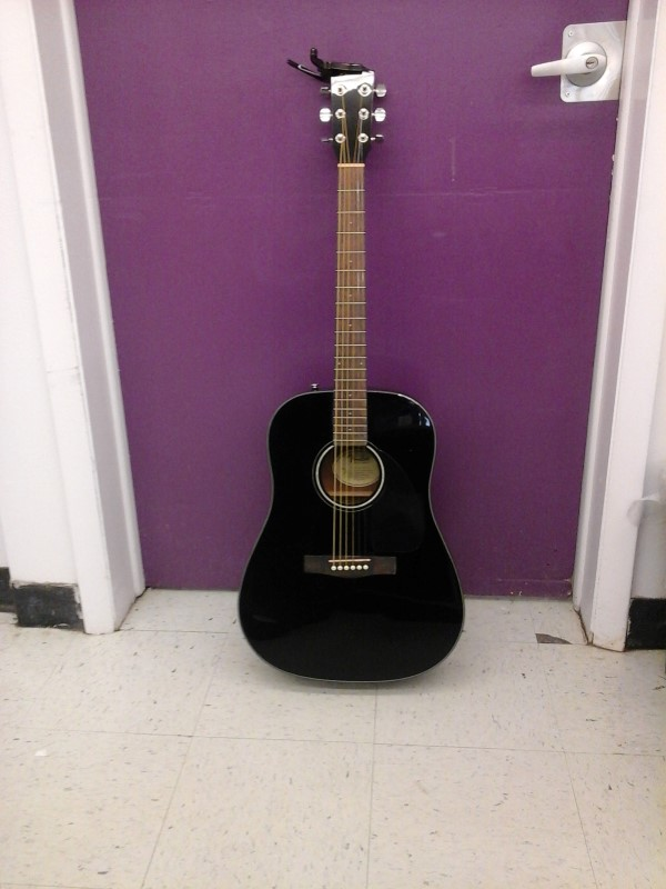 FENDER Acoustic Guitar DG60BKDSV2