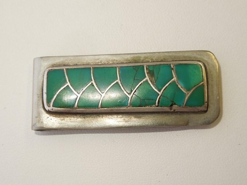 Silver Belt Buckle 925 Silver 15.3g