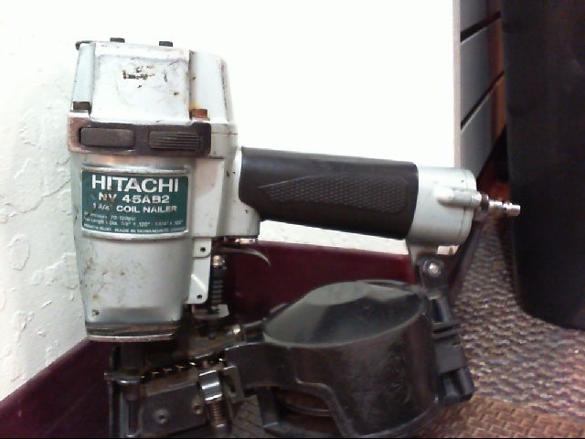 HITACHI Nailer/Stapler NV 45AB2 NEEDS NEW PART AND/OR REBUILD KIT