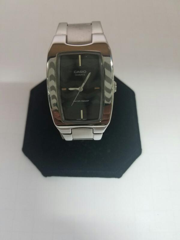 CASIO MTP1165 GOLD/SILVER WATCH PLATED   60KST SIL MNS WA