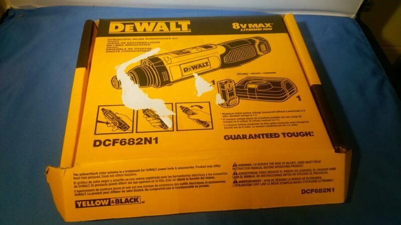 DEWALT CORDLESS DRILL MODEL DCF682 IN BOX