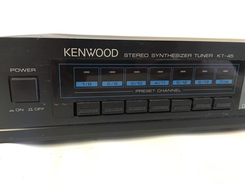 KENWOOD Tuner KT-45