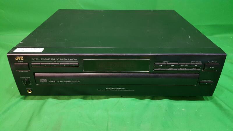 JVC CD Player & Recorder XL-F108BK